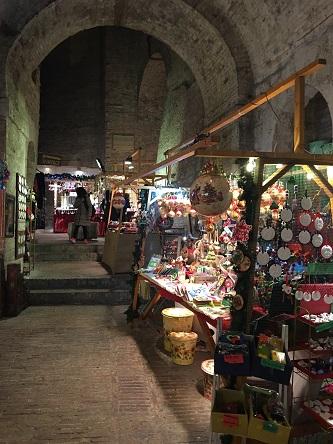 Julmarknad i Perugia
